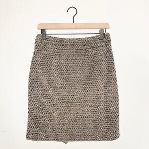 J. Crew Tweed Mini Pencil Skirt